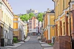 Vozdvizhenka område i Kiev, Ukraina 3 Royaltyfria Foton