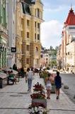 Vozdvizhinskaya ulica, dziejowy centrum Obrazy Royalty Free
