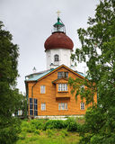 Voznesenskaya church-lighthouse on Sekirnaya Mountain Royalty Free Stock Photo