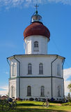 Voznesenskaya church-lighthouse, Solovki, Russia Stock Photography