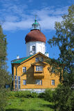Voznesenskaya church-lighthouse, Solovki, Russia Royalty Free Stock Photos