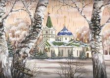 Voznesensky Kathedrale Stockfotografie