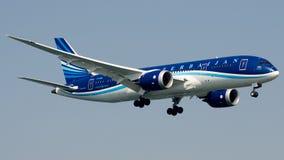 VP-BBS Azerbaijan Airlines, Boeing 787-8 Dreamliner immagine stock