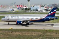 VP-BKX Aeroflot, Airbus A320-200 Stockfotografie