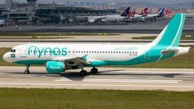 VP-CXD Flynas, аэробус A320-200 Стоковое Изображение