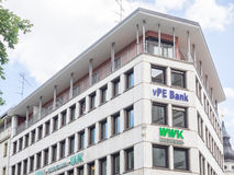 VPE Bank munich Stock Image