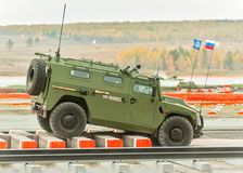 VPK-233115 Tigr-M armored vehicle stock image