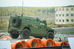 VPK-233115 Tigr-M armored vehicle stock photos