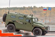 VPK-233114 Tigr-M armored vehicle (Russia) Stock Image