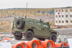 VPK-233115 Tigr-M armored vehicle (Russia) Royalty Free Stock Photo
