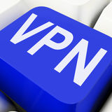 VPN Keys Mean Virtual Private Network Stock Photos
