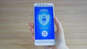 VPN Red privada virtual E Encripci?n de datos r Seguridad cibern?tica y almacen de metraje de vídeo