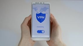 VPN Red privada virtual E Encripci?n de datos r Seguridad cibern?tica y almacen de video