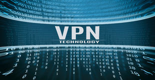 VPN technology concept Stock Photos