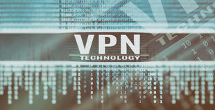 VPN technology concept Royalty Free Stock Image