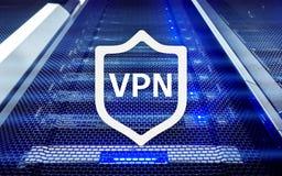 VPN, virtuele privé netwerktechnologie, volmacht en ssl, cyber veiligheid royalty-vrije stock fotografie