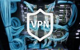 VPN, wirtualna intymnej sieci technologia, prokurent i ssl, cyber ochrona fotografia stock