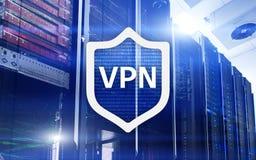 VPN, wirtualna intymnej sieci technologia, prokurent i ssl, cyber ochrona zdjęcie stock