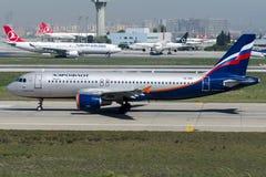 VQ-BBC Aeroflot, Airbus A320 - 200 Lizenzfreies Stockfoto