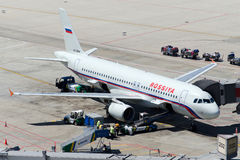VQ-BBM Rossiya linie lotnicze Aerobus A320-214 Obraz Royalty Free