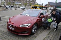 VQIOUS ELEKTRYCZNI samochody RALLY_PRINCE JOACIM Zdjęcie Royalty Free