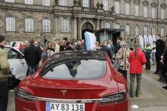 VQIOUS ELEKTRYCZNI samochody RALLY_PRINCE JOACIM Fotografia Royalty Free