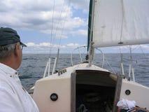 Vråkfjärden seglar Arkivfoto