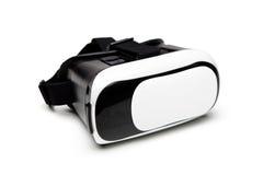 VR在白色背景隔绝的虚拟现实玻璃 免版税库存图片