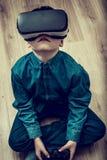 VR游戏玩家 免版税库存照片