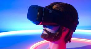 VR虚拟现实360 3D风镜 库存照片