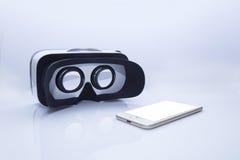 VR γυαλιά για ένα smartphone Στοκ εικόνες με δικαίωμα ελεύθερης χρήσης