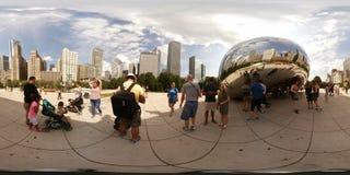 360vr εικόνα της πύλης σύννεφων στοκ φωτογραφία με δικαίωμα ελεύθερης χρήσης