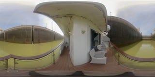 360VR ταξιδεύοντας μέσω των κλειδαριών στοκ εικόνες με δικαίωμα ελεύθερης χρήσης