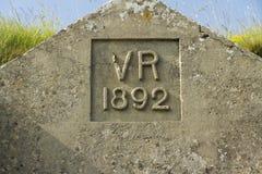 VR维多利亚雷克斯1892 免版税库存图片