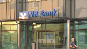 VR Bank stock video footage