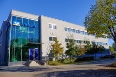 VR-bankbyggnad Royaltyfri Foto