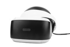 VR Box  Virtual reality glasses, isolated on a white background. Professional audio equipment. New toy for childrens and adults. Professional audio equipment or Royalty Free Stock Image