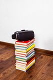 VR Glasses on the Books Royalty Free Stock Image