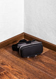 VR Glasses on the Floor Royalty Free Stock Images