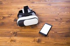 VR headset phone Stock Image