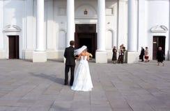 Vóór het huwelijk Stock Fotografie
