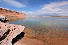 Vår på sjön Powell Royaltyfri Fotografi