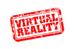 VR rubber stamp Royalty Free Stock Photo