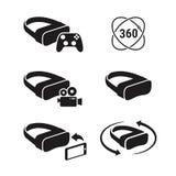 Vr symboler Arkivfoton