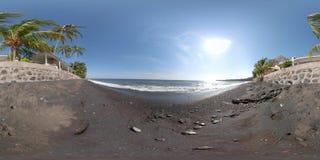 Coast with beach vr360 stock photography