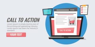 Vraag aan de optimalisering van de actieknoop voor elektronische handelportaal Verbeter de strategie van het kliktarief Stock Foto