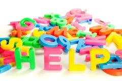 Vraag naar hulp Stock Fotografie