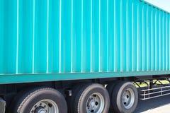 Vracht verschepende containers Royalty-vrije Stock Foto's