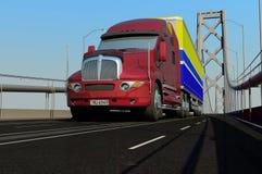 Vrachtmachine Royalty-vrije Stock Fotografie
