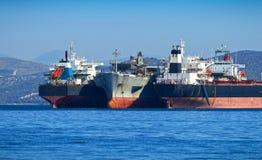 Vrachtschepen stock fotografie